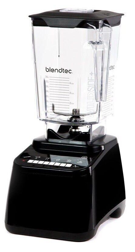 Blendtec Designer 650 8 Vitesse Mélangeur Avec Wildside + pot noir neuf garantie 8 an