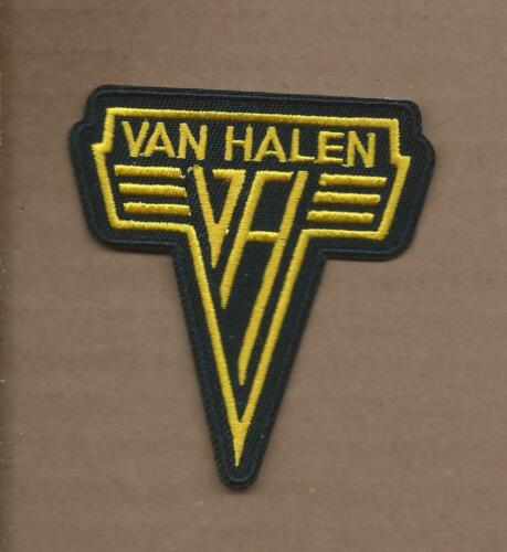 NEW 2 7//8 X 3 1//8 INCH VAN HALEN IRON ON PATCH FREE SHIPPING