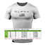 Alpha-Men-039-s-Gym-T-Shirt-Bodybuilding-Fitness-Training-Workout-Muscle-Top-New-Tee miniatuur 12