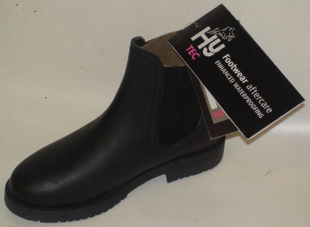 HyLAND Childrens//Kids Wax Leather Jodhpur Boots