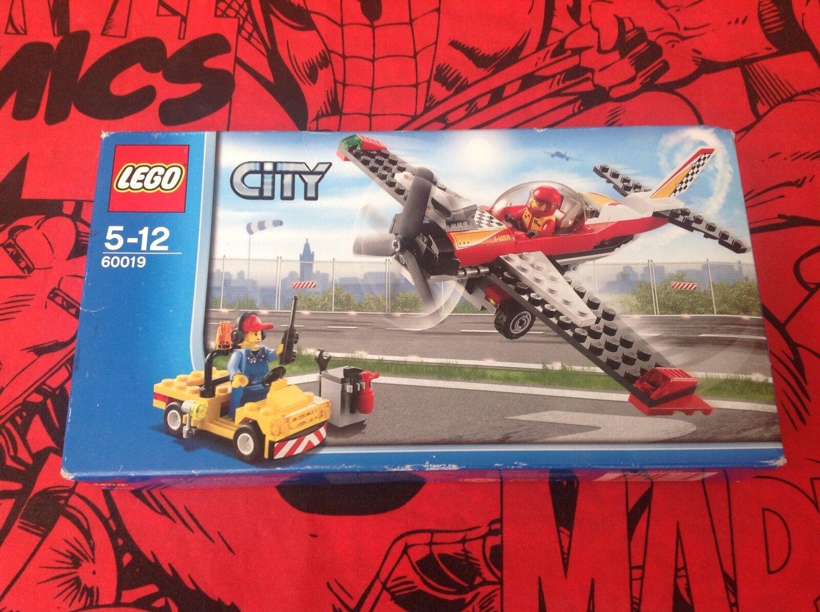 Lego City Stunt Stunt Stunt avión Conjunto de Juego 60019-Nuevo Y Sellado-caja está desgastada-ver imágenes b2e9bd