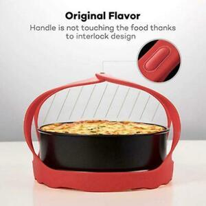 Pressure-Cooker-Sling-Steamer-Silicone-Bakeware-Lifter-Rack-Cook-AU-U6M0
