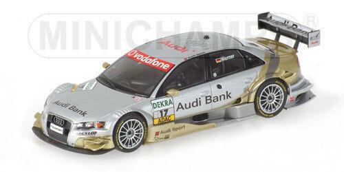 Audi A4  17 Dtm 2007 1 43 Model 400079667 MINICHAMPS