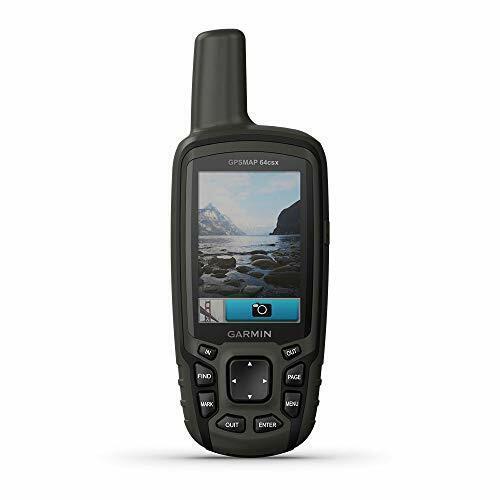 Garmin GPSMAP 64csx Handheld GPS w Altimeter Compass and 8 MP Camera Preloaded