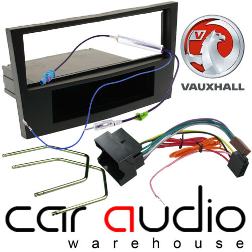Wiring Kit Black Vauxhall Corsa Astra Zafira Car Stereo Fascia Panel Fitting