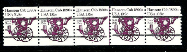 US #1904a ~ Plate #3 // Mint-NH Plate Number Coil Strip of 5 [PNC-5] ~ Great Gap