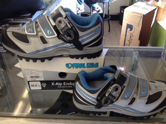 PEARL PEARL PEARL IZUMI X-ALP ENDURO Damenschuhe SIZE 36 / 5 US MOUNTAIN SPIN Schuhe fdac43