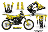 Suzuki Rm 125 Graphic Kit Amr Racing Plates Decal Rm125 Sticker Part 93-95 Rpy