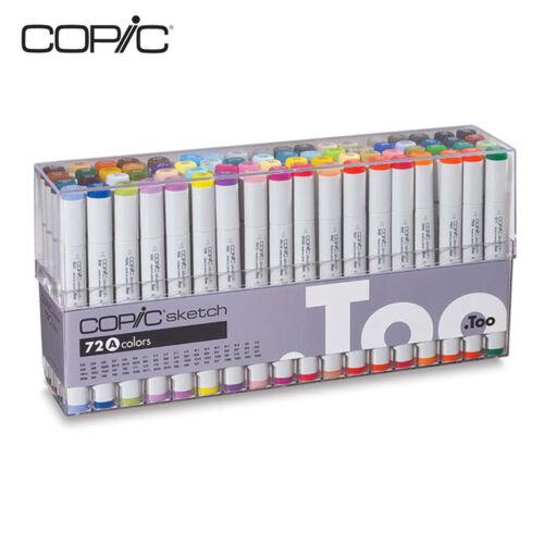 E Premium Artist Markers D C Copic Sketch Marker 72 Color Set A,B