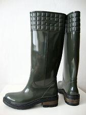 CUBANAS BOOTS Damen Stiefel Gummistiefel Regenstiefel Grün Gr.39 NEU