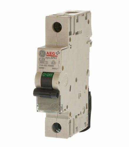 AEG GE ep61c25 commutateur de protection de ligne c25 566521