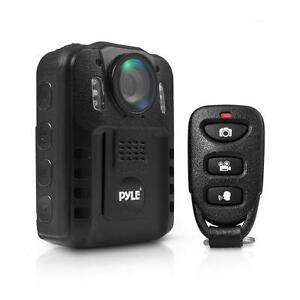 Pyle-PPBCM9-Compact-amp-Portable-HD-Body-Police-Camera-Night-Vision-16GB