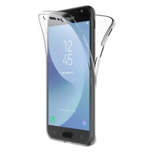 COVER-PER-SAMSUNG-J3-J5-J7-2017-FULL-BODY-360-FRONTE-RETRO-CUSTODIA-TRASPARENTE