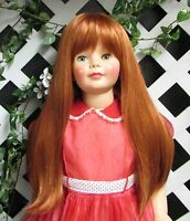 Doll Wig, Monique lorie Size 19 1/2 In Carrot For Patti Playpal