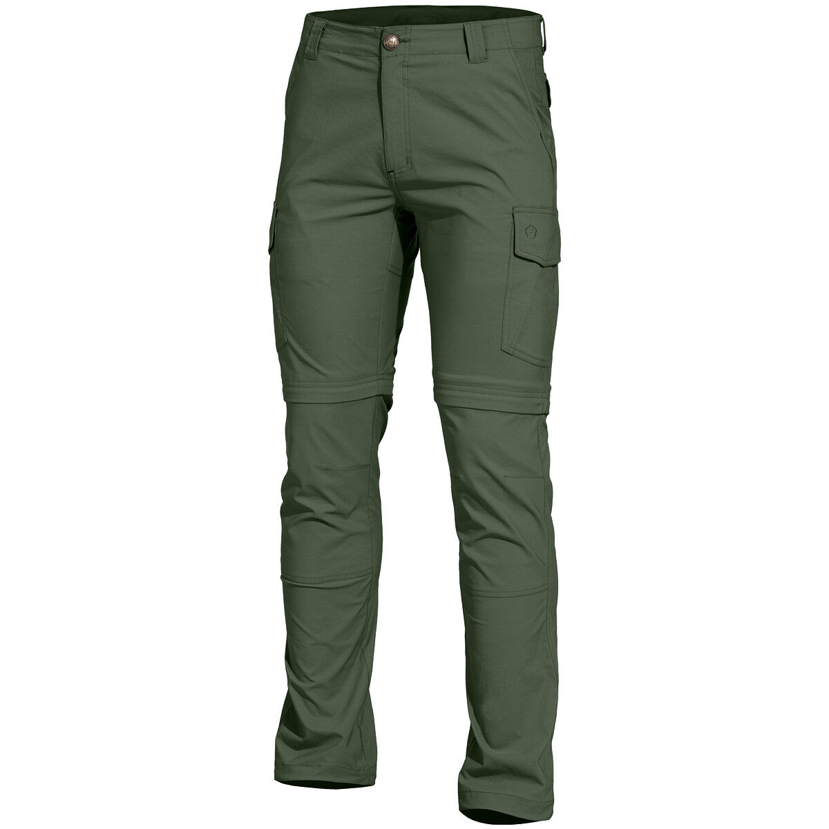Pentagon Gomati XTR Pants Outdoor Tactical Zip Off Legs Work Trousers Camo Green