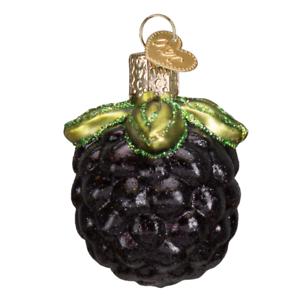 034-Blackberry-034-28113-X-Old-World-Christmas-Glass-Ornament-w-OWC-Box