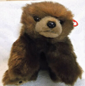"Ty Classic 1996 Baby Paws Brown Bear 12/"" Plush"