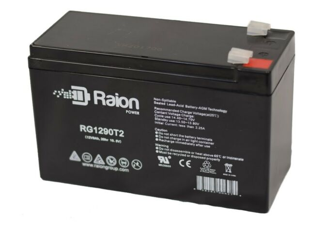 Eaton Powerware PW9125-2000 12V 9Ah UPS Battery This is an AJC Brand Replacement