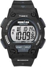 """Timex T5K196, Men's """"Ironman Triathlon"""" 30-Lap Resin Watch, Shock, T5K1969J"""