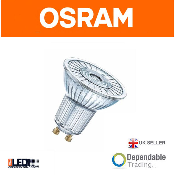 Osram Bombilla LED PAR16 GU10 4.3w 36 Grados Extra Blanco Cálido