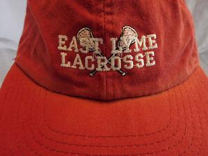 f94765e1029 East Lyme Lacrosse CT Connecticut Baseball Cap Dad Hat Strapback ...