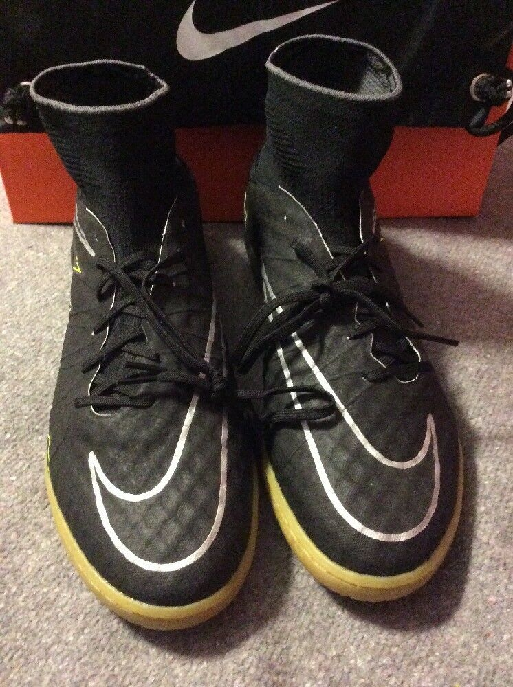 NIKE HYPERVENOMX PROXIMO IC INDOOR CLEATS BLACK-GUM BROWN Price reduction Wild casual shoes