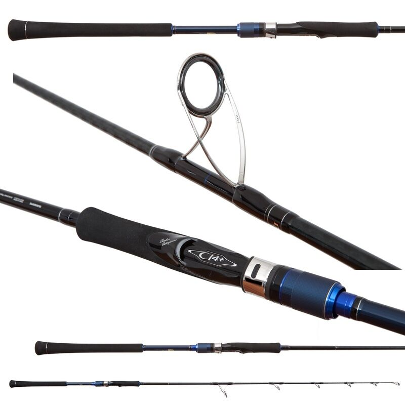 New Shimano Juego Type J Spin Jigging Rod-Model S594 5'9  Heavy - Free Fast Ship