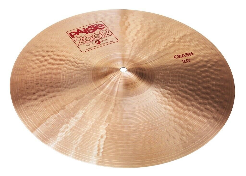 Paiste 2002 Crash Cymbal 20  - Video Demo