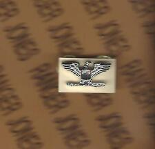 US ARMY COL COLONEL 0-6 rank uniform badge miniature single (R)