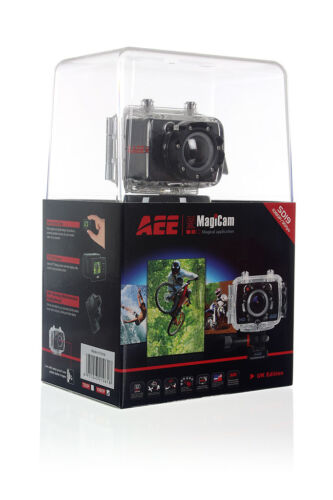 Cámara de acción HD deportiva-IP68 Impermeable 1080p Dvr 175 ° Lente Ancha con montajes de 3