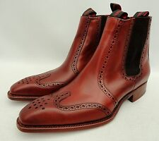Jeffery West Chelsea Brown Leather Boots UK10 44 US11, rrp399GBP