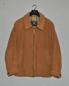BURBERRYS-Mens-Vintage-Burberry-Nova-Checkered-Wool-Bomber-Jacket-Size-48