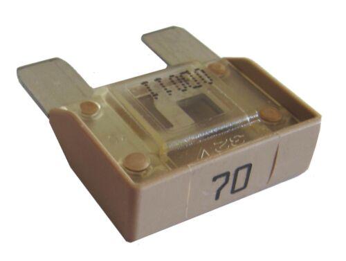 Flachsicherung MAXI 70A Qualität v Markenhersteller MTA Sicherung kfz Auto Fuse