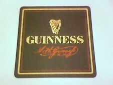 GUINNESS  EXTRA STOUT Beermat / Coaster 2 sided