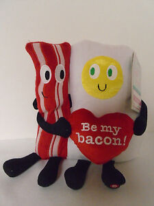 2016-New-Gemmy-Foodie-amp-Friends-Dance-Sing-Bacon-amp-Egg-Animated-Plush-Rare