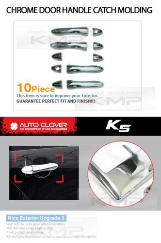 Chrome Door Catch Handle Molding Cover Garnish for KIA 2011-2015  Optima K5