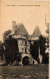 CPA MATHA - Le Chateau (480610)