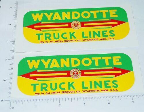 Wyandotte Truck Lines Side Panel Sticker Set     WY-041
