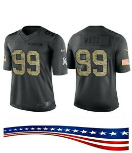 free shipping 692e8 c44cf Details about J.J. Watt Texans Salute to Service Jersey #99 - Medium -  Authentic - NEW - FAST!