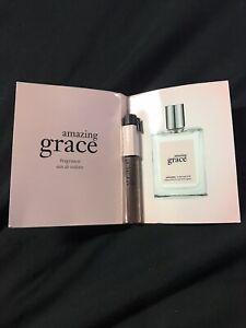 PHILOSOPHY Amazing Grace Eau de Toilette EDT Women Perfume Sample 0.05oz 1.5mL