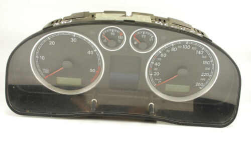 VW PASSAT B5 INSTRUMENT CLUSTER SPEEDO TACHO WITH MFA 3B0920826 A