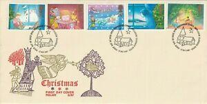 17-de-noviembre-de-1987-Navidad-philart-descuidados-primer-dia-cubierta-Belen-Shs