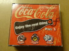 CD + GAME BOX / ENJOY THE REAL THING PART 1 - ALWAYS COCA COLA