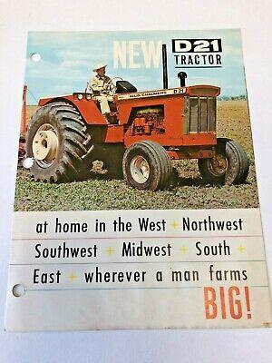 Allis Chalmers 8550 7580 Tractor Dealer/'s Brochure YABE19 ver2