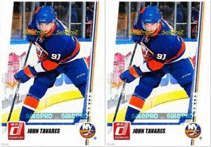 2x-PANINI-DONRUSS-2010-JOHN-TAVARES-NHL-NY-NEW-YORK-ISLANDERS-193-MINT-CARD-LOT