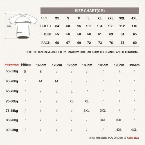 Men/'s Sports Bike Cycling Jerseys Breathable Clothing Summer Shirts Tops Outfits