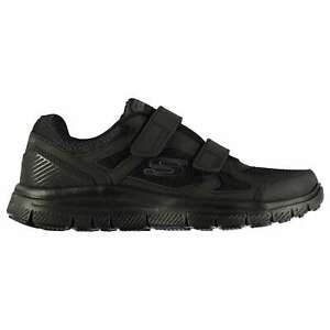 Skechers Mens F A Estello Strap Running Shoes Low Top Trainers