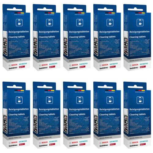 Original Bosch Siemens Neff Nettoyage Comprimés 311769 tz60001 tcz6001-10er Set