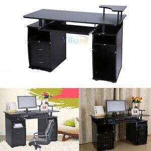 Computertisch drucker modern  Computertisch Bürotisch Arbeitstisch PC Tisch Schreibtisch mit ...