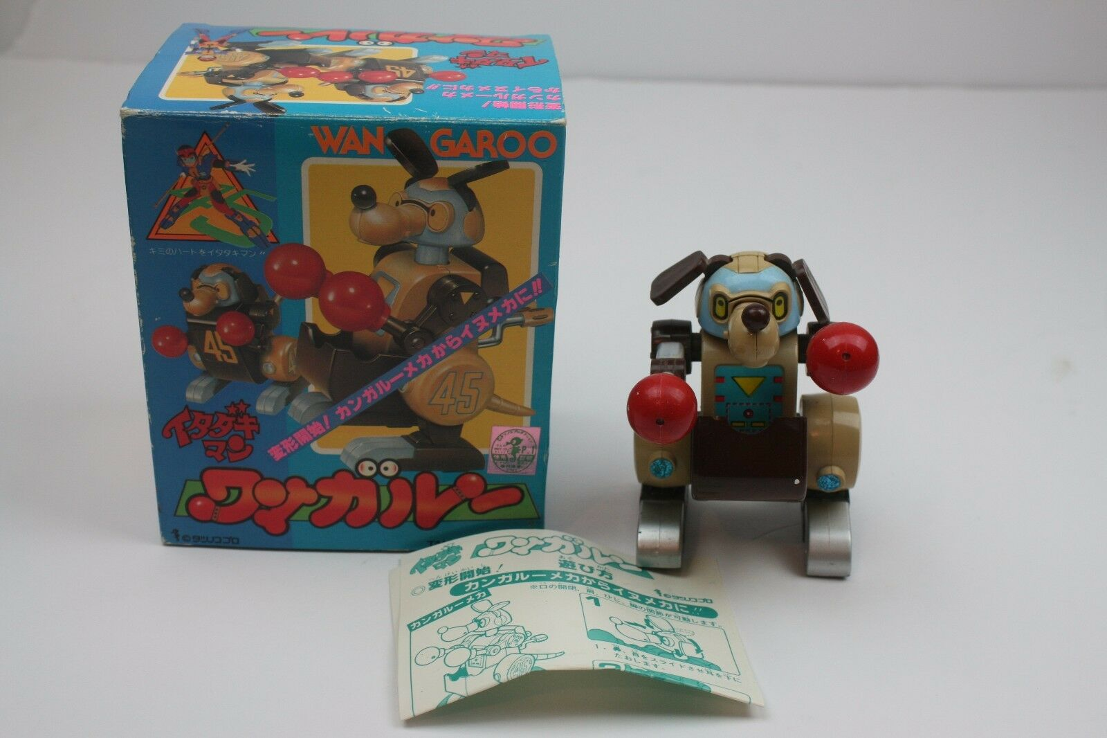 Vintage '80s ITADAKIMAN WANGAROO Takatoku ST JAPAN